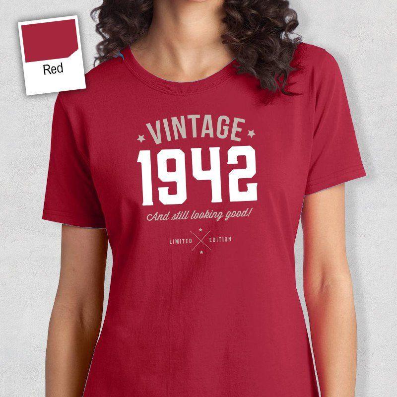 75th birthday t shirt gift birthday shirts 40th