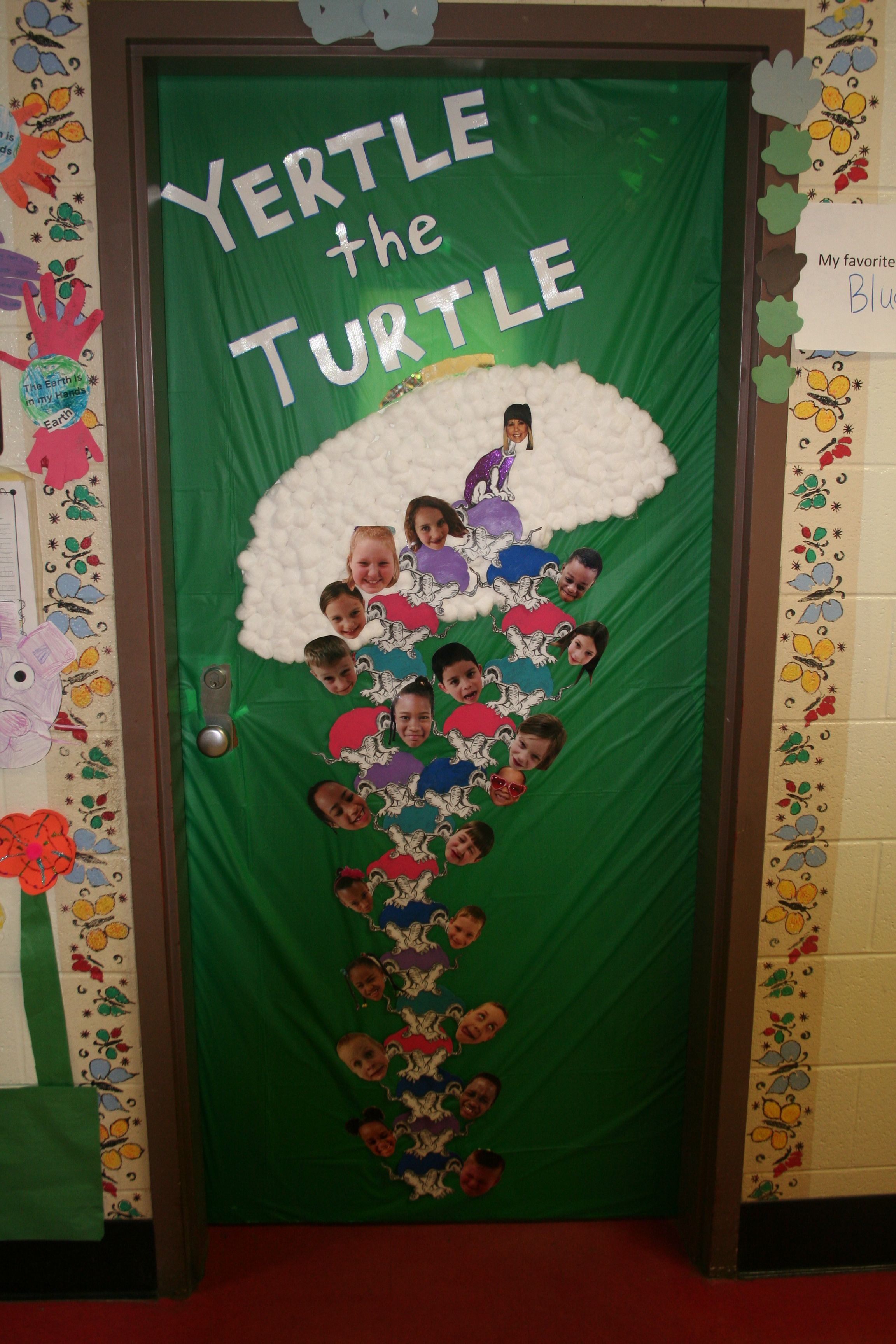 Dr Seuss Teacher Door Yertle The Turtle