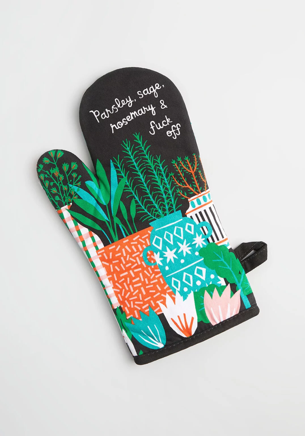 parsley sage rosemary oven mitt in 2020 oven mitts cute kitchen vintage inspired room pinterest
