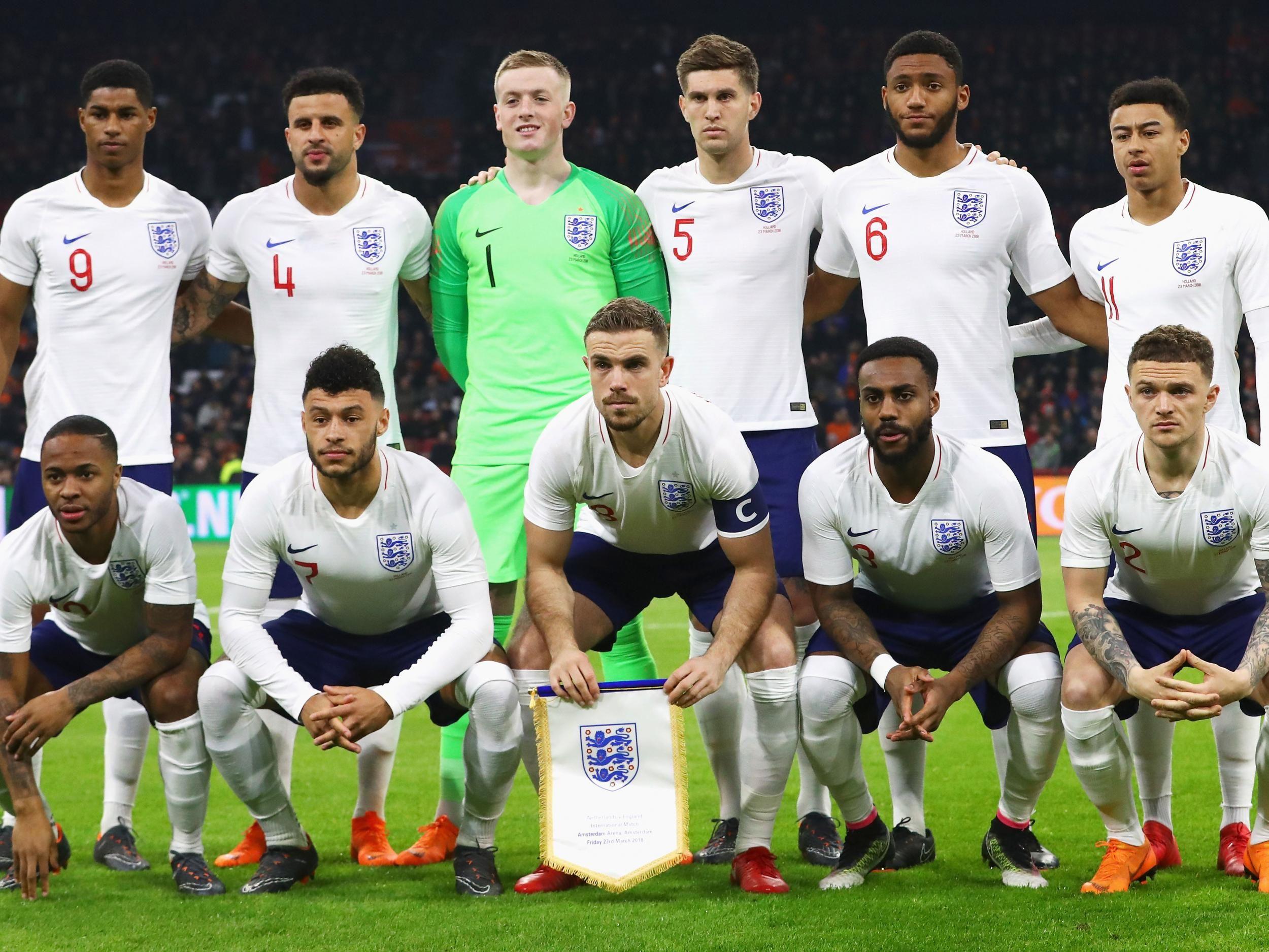 England Football Team 2018 England Football Team England Football England World Cup Team