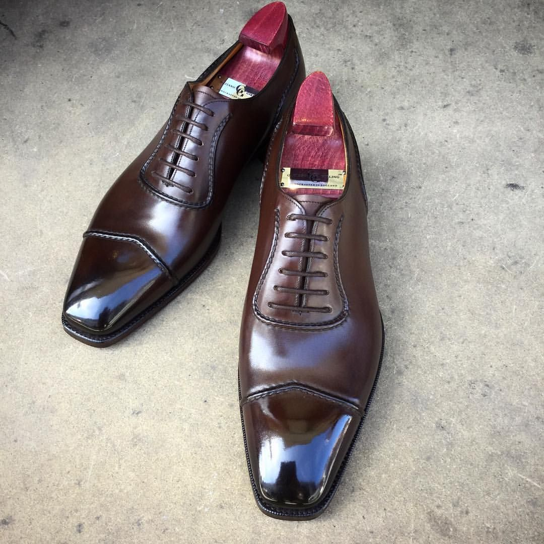 Cuir Noir Classique Chaussures Oxford Gaziano & Girling jndirWe