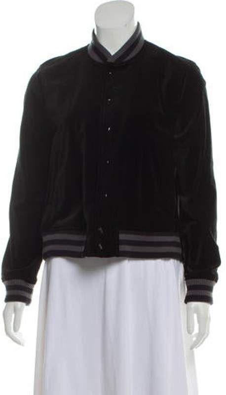 Velvet Varsity Jacket #varsityjacketoutfit