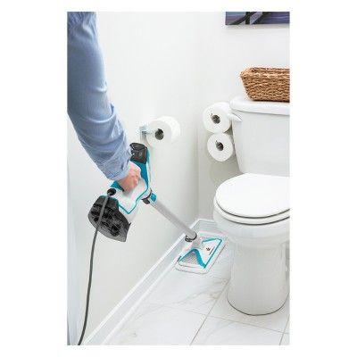 Bissell Powerfresh Slim Steam Mop White In 2020 Steam Mop Bissell Powerfresh Cleaning Gadgets