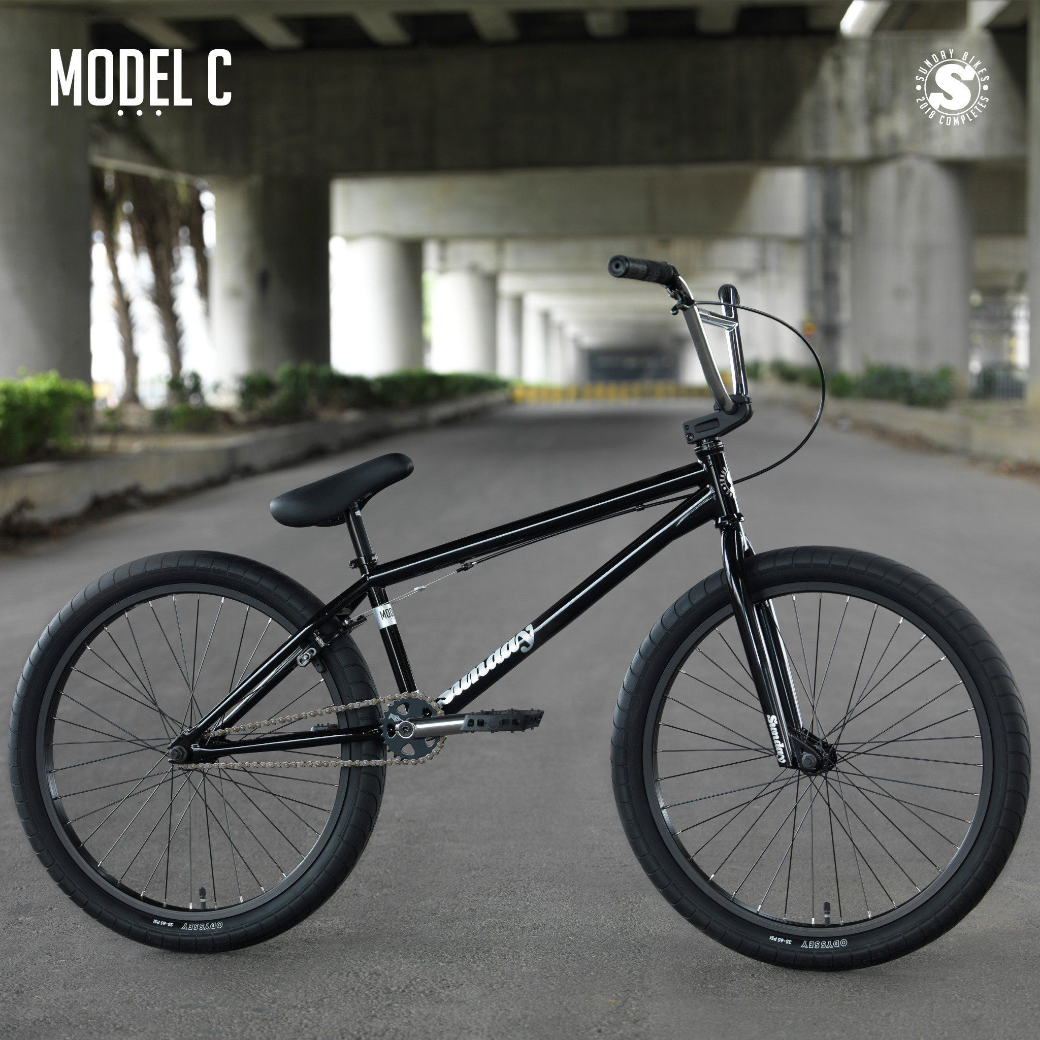 Sunday Model C24 Bmx Cruiser Bike Bmx