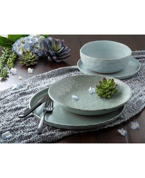 Kaya Blue 16 Piece Dinnerware Set #casualdinnerware