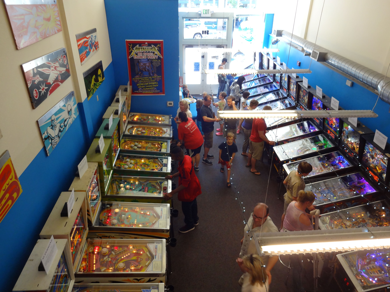 Seattle Pinball Museum. June, 2014.