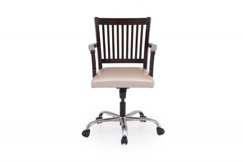 office chair online india royal princess buy wooden low back ekbote furniture
