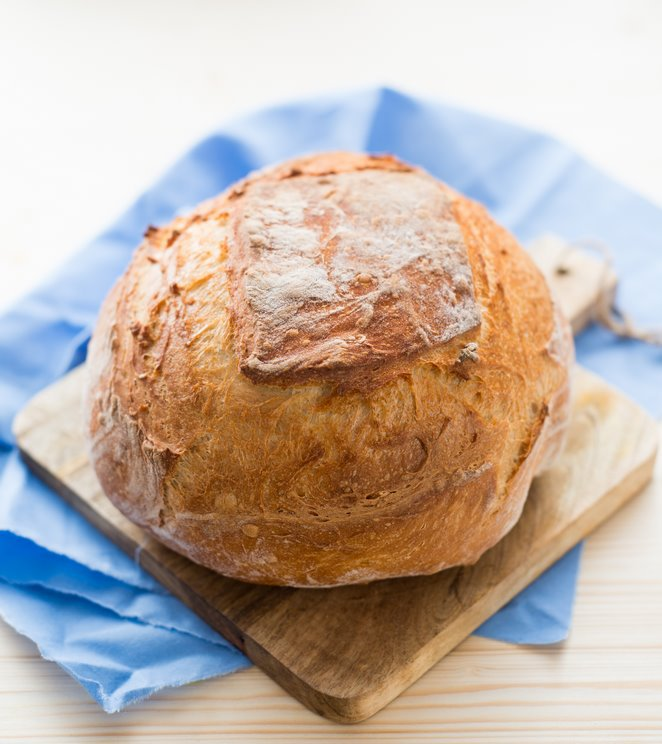 Schnelles Brot mit Trockenhefe (Pain avec de la levure sèche) | | Rezept | Französisch kochen