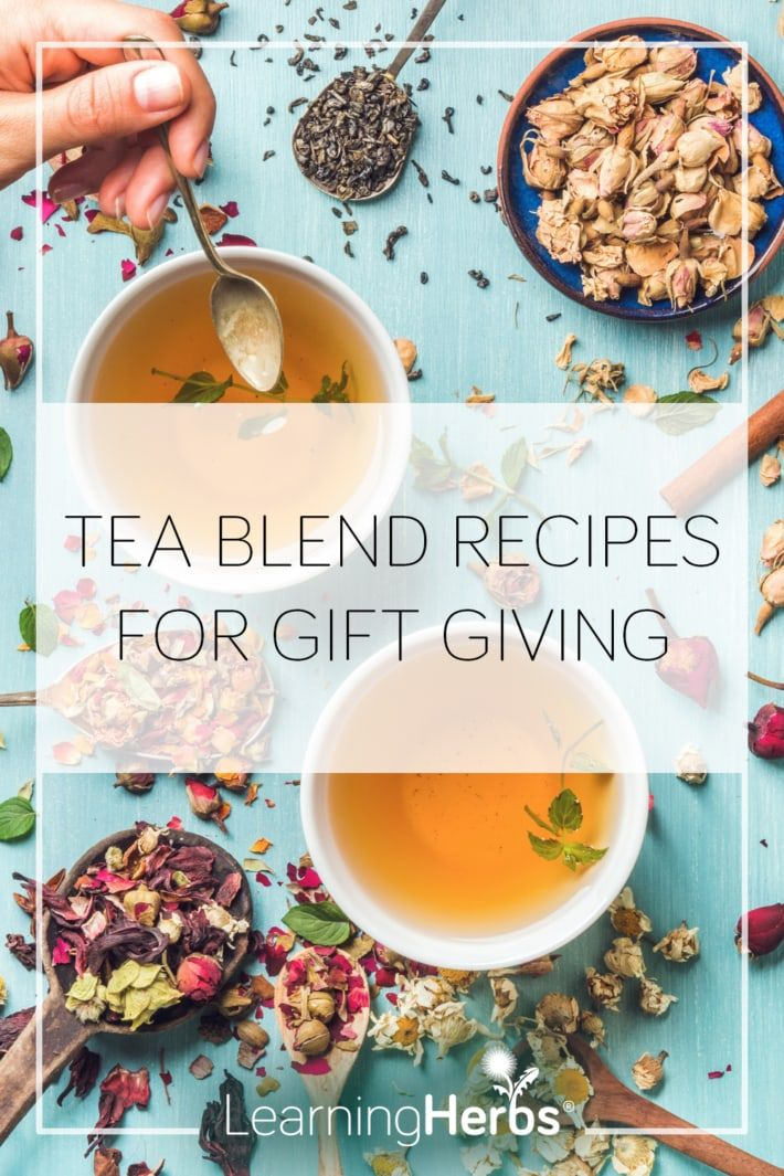 Photo of Six Herbal Tea Blend Recipes