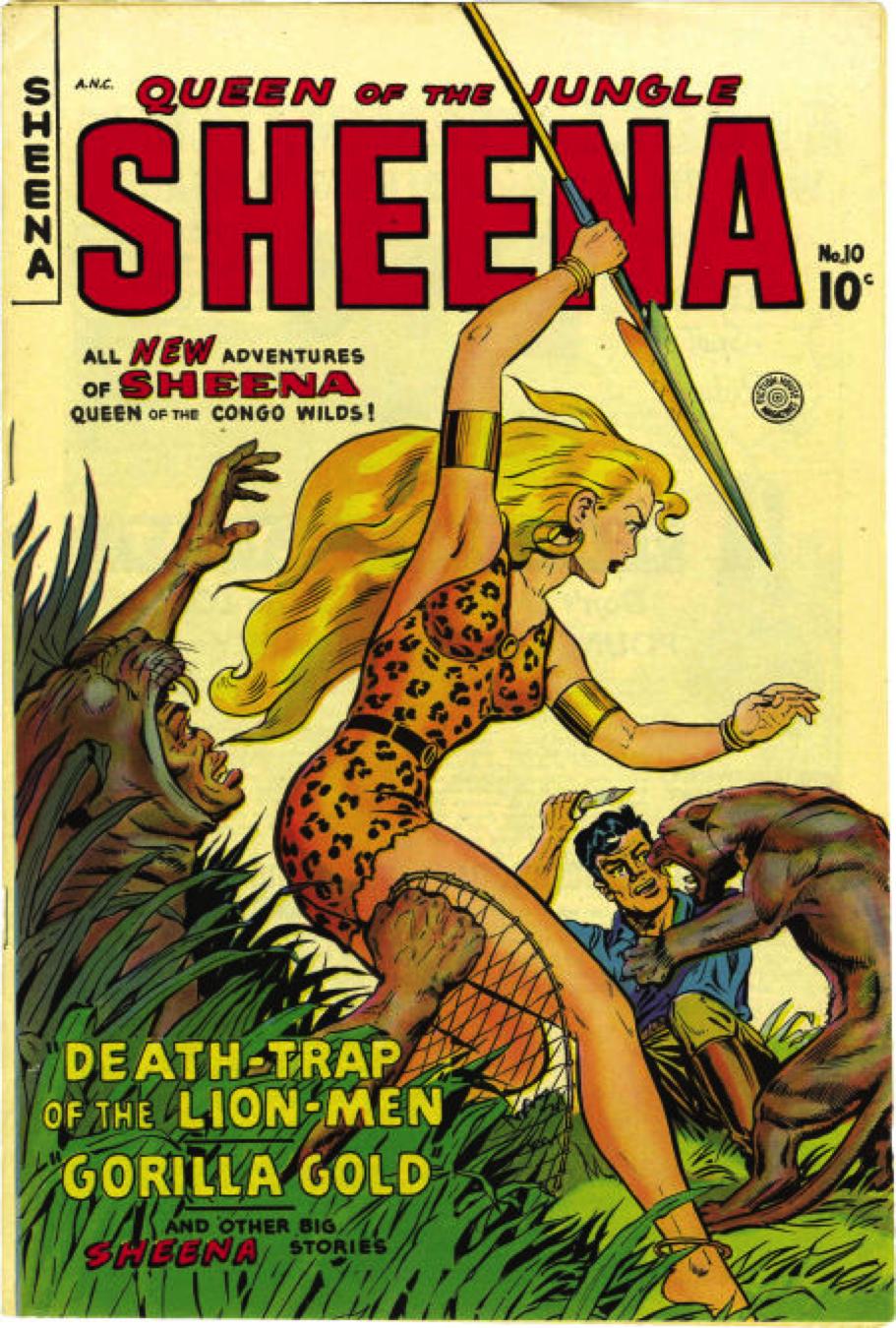 Sheena #10 1950