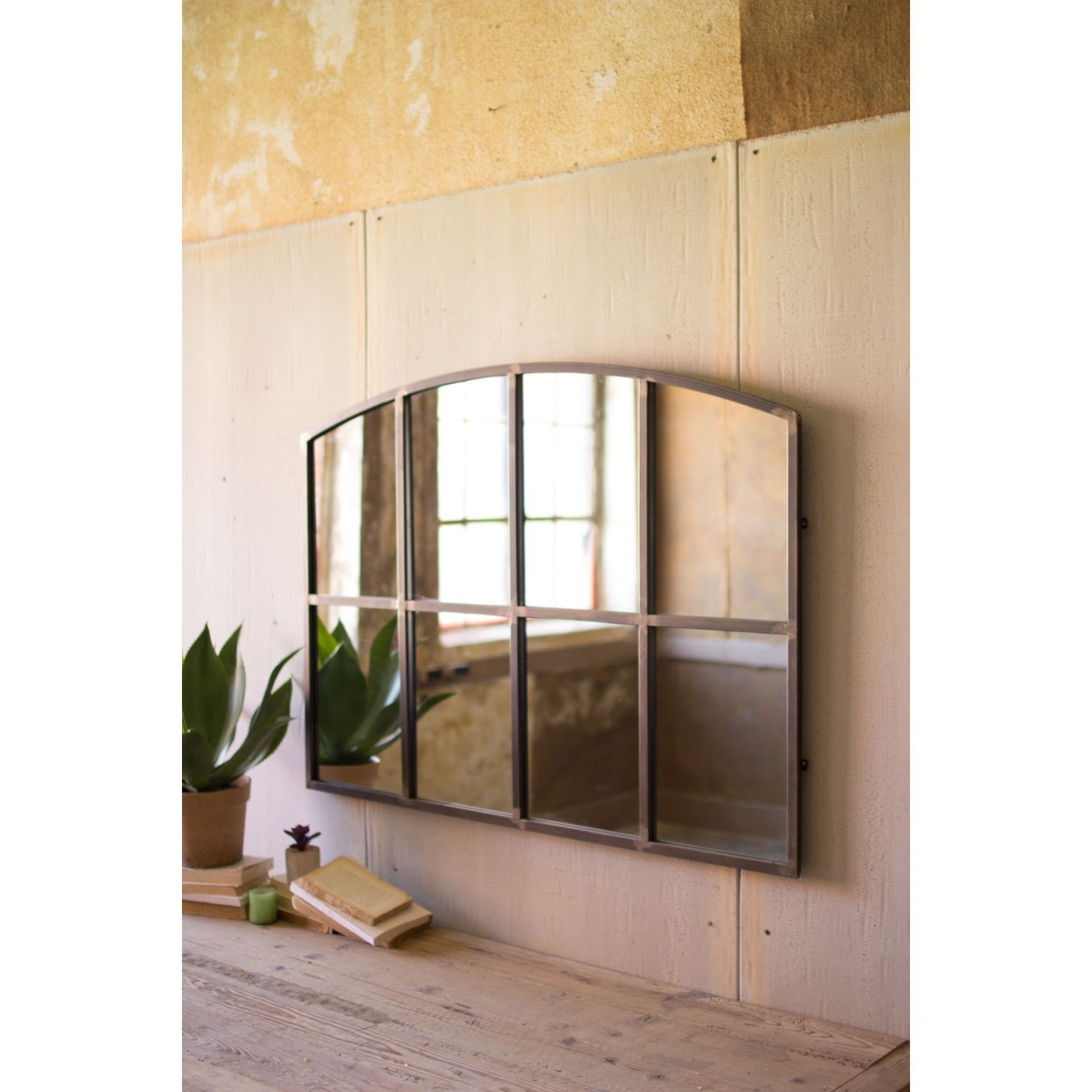 Kalalou Antique Galvanized 48 Inch Wall Mirror Chyk1119 Bellacor In 2021 Wall Mirror Decor Living Room Mirror Wall Large Wall Mirror