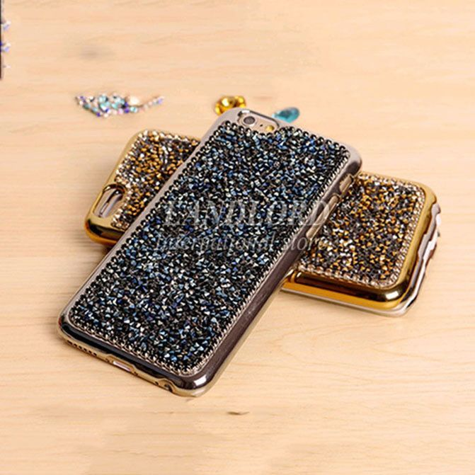 Nice Top Quality Luxury 3D Bling Rhinestone Accent Hard Cover Cellphone Case for iPhone 6 - 5 Colors https://womenslittletips.blogspot.com http://amzn.to/2lkg9Ua
