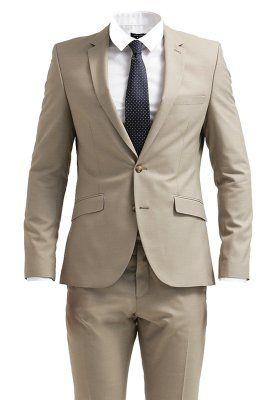 ONE TAX CASH - Anzug - greige   Anzug, Kleidung herren