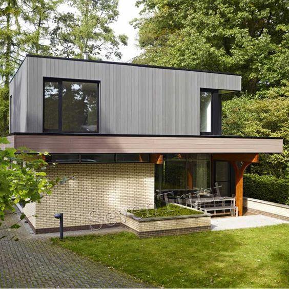 Exterior-House-Walls-Materials. Cheap Composite Materials Outside Wall Panels Exterior Wall Panels Decorative Materials Wall Cladding