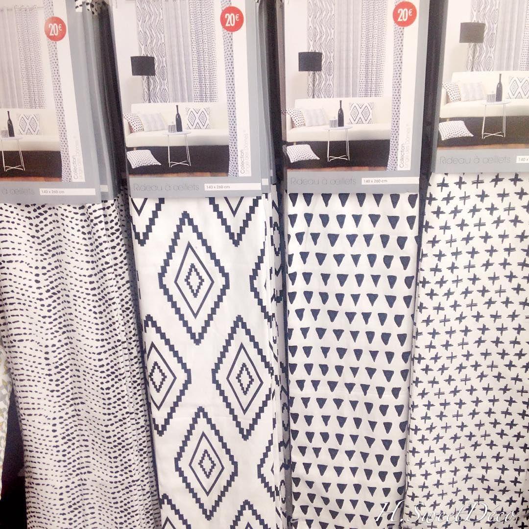 Populaire Les nouveautés au rayon #rideau chez #babou par @Hnina.sweetdeco  RT62