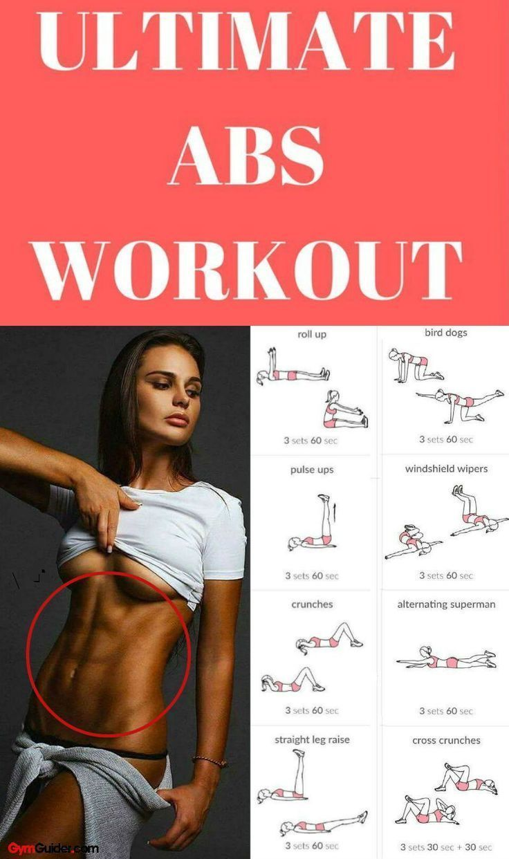 6 Exercises for Lower Abs That Will Set Your Core on Fire This ab workout routin