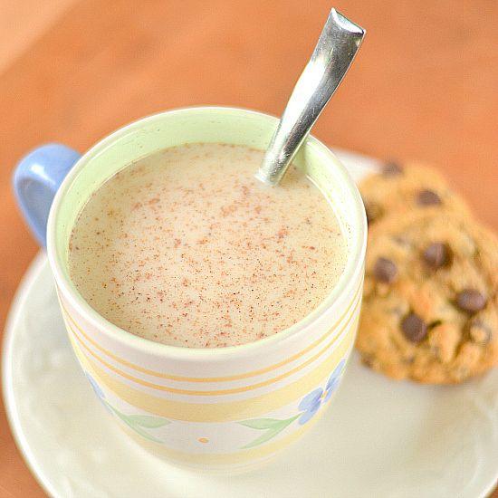 Vanilla Nutmeg Almond Milk Steamer