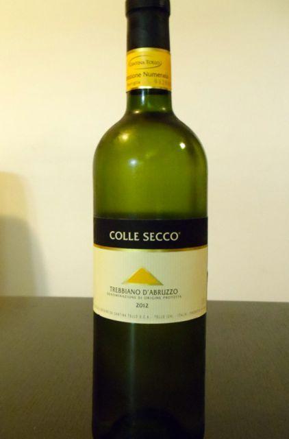 Colle Secco Trebbiano D'Abruzzo 2012 Review