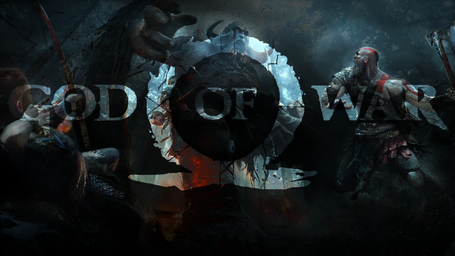 God Of War Ps4 Wallpaper 1080p By Claterz God Of War Guerreiro