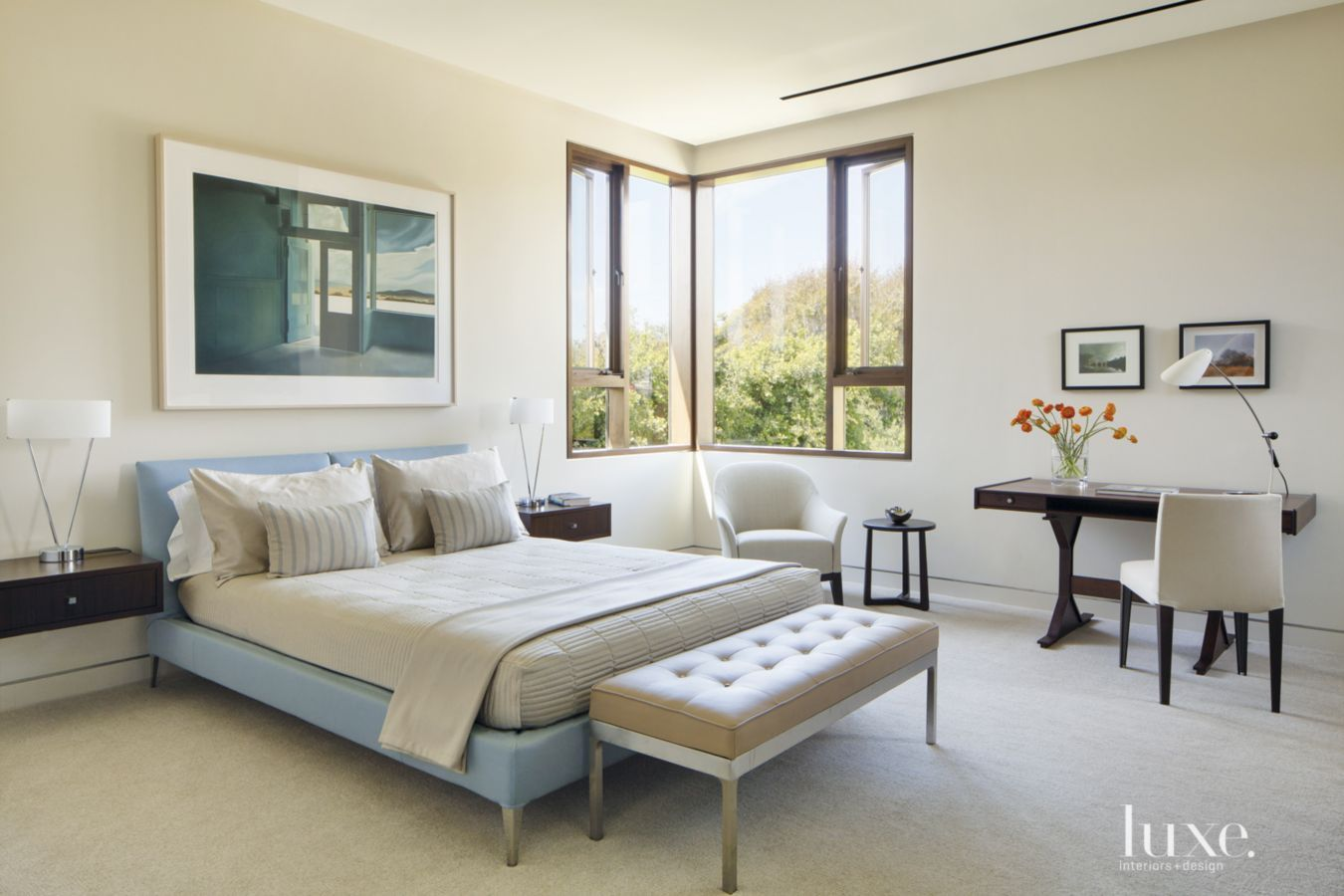 A Contemporary Los Angeles Home with Minimal Interiors | Bedroom ...