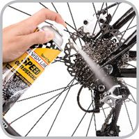 Use A Degreaser Before Lubricating The Bike Chain And Gears Bike Cleaning Speed Bike Speed Cleaning