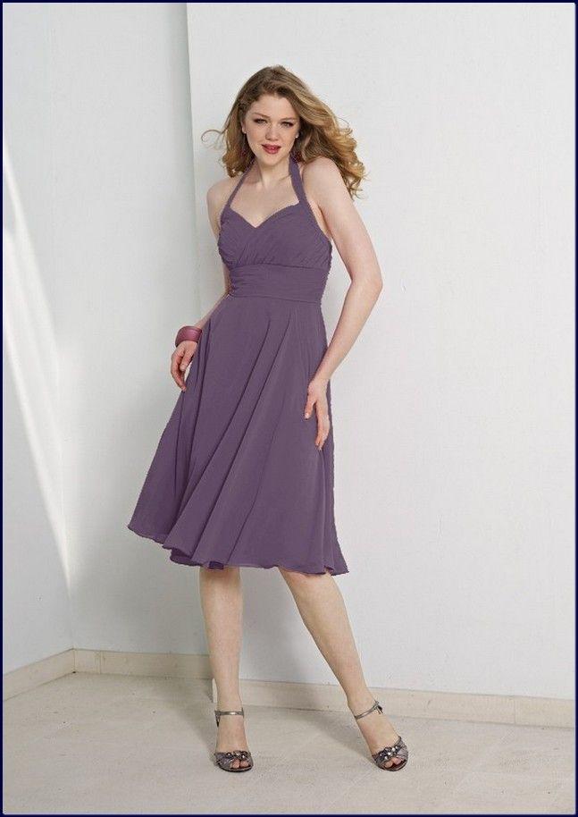Eggplant Chiffon Dress Charming Style | http://fashionforpassion.org ...