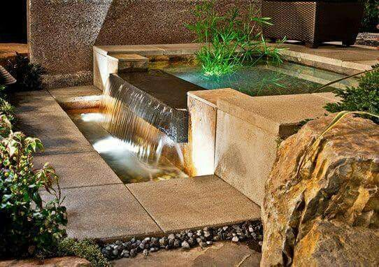 Fountain ideas home designs Pinterest Fountain ideas