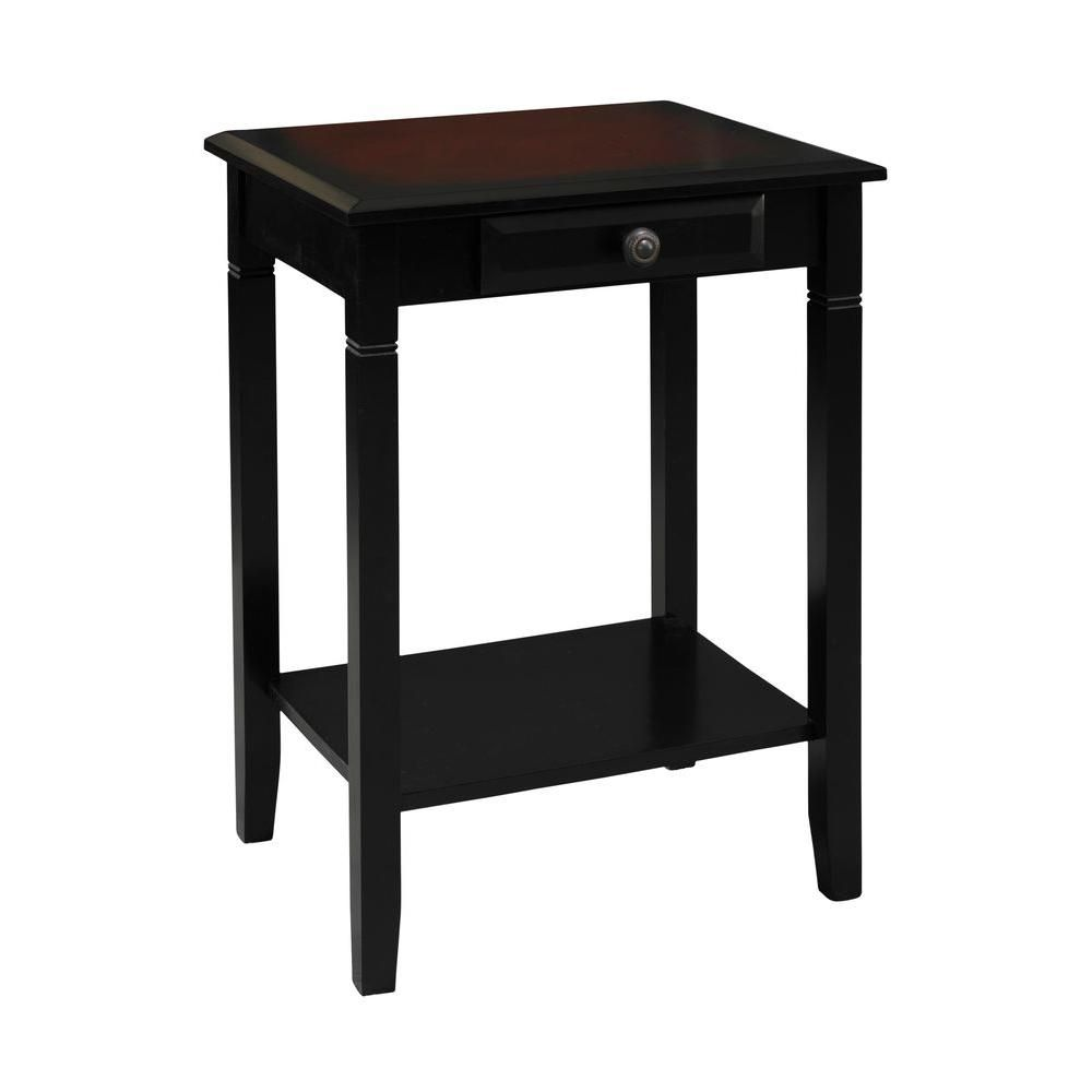 cherry end tables. Camden Local Hardwoods MDF Black Cherry Accent Table End Tables W
