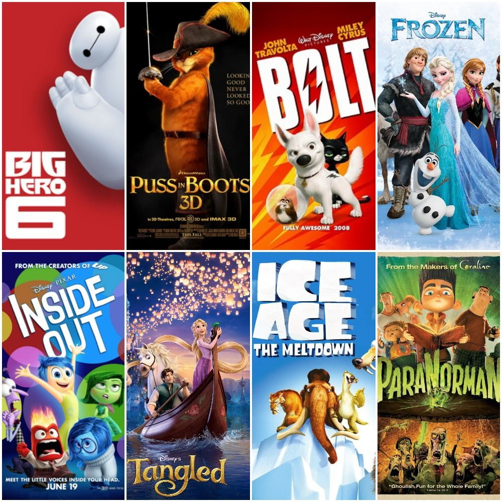 Must watch animation movies released during 2006 To 2016