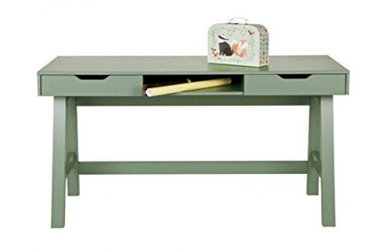 Schreibtisch Nikki Kinder Holz Tisch Schulschreibtisch Jugendschreibtisch Grun Zimmerzwerge Furniture Home Office Furniture Wood Computer Desk
