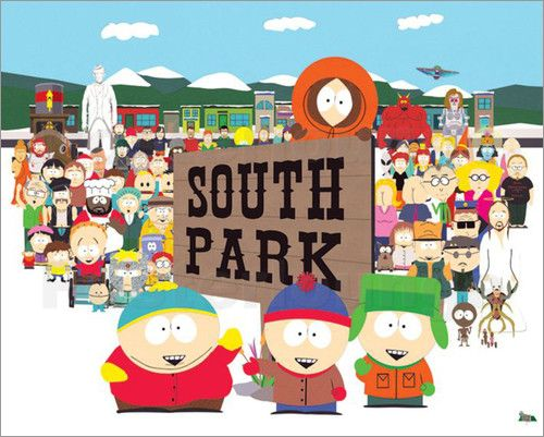 South Park - Opening Sequence - Comicposter