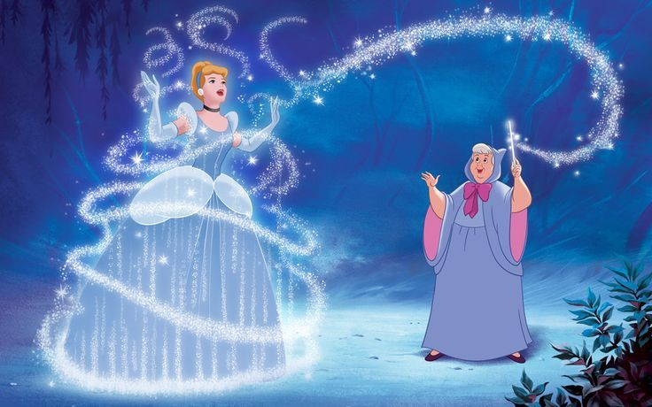 Cinderella Fairy Godmother Cinderella And Her Fairy Godmother