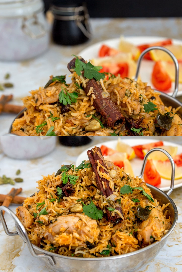 One-Pot Chicken Biryani Indian