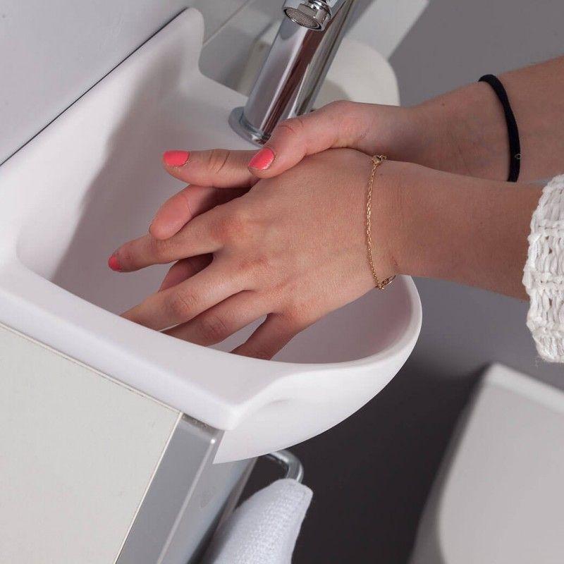 Petit Meuble Lave Mains De 20 Cm De Profondeur Seulement Petit Lave Main Lave Main Meuble Lave Main