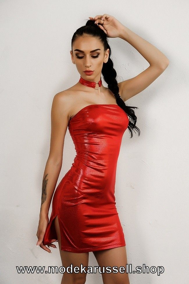 Mini Kleid Cocktailkleid 2018 Gaby in Rot | Cocktailkleid ...