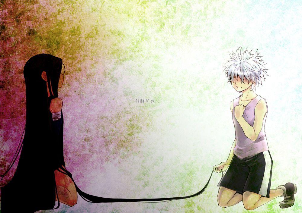 Gon And Killua Ohotniki Temnoe Anime Anime