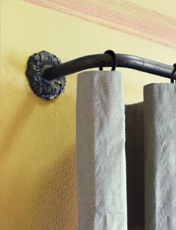 tringle rideau houl s corner de houl s fait partie de la collection de tringles rideaux. Black Bedroom Furniture Sets. Home Design Ideas