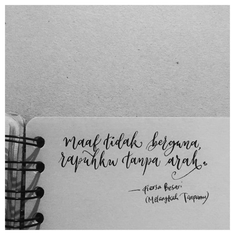 Caption Ig Fiersa Besari - Celoteh Bijak