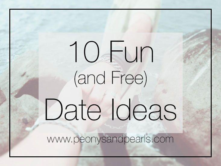 10 Fun (and free) Date Ideas! www.peonysandpearls.com