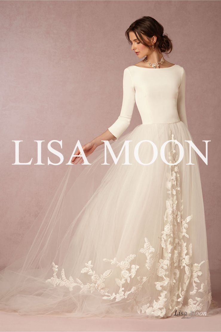 Lisa Moon ◇ Wedding Dress | Wedding | Pinterest | Lisa, Wedding ...