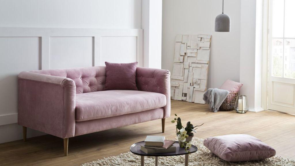 Candy #rosa #Sofa #Loveseat #pastell - Möbel Mit wwwmoebelmitde - gemütliches sofa wohnzimmer