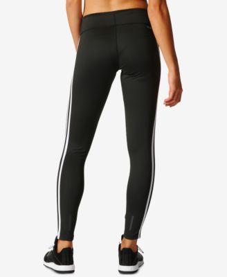 fa53c067f41 adidas ClimaLite D2M Three Stripes Long Leggings - Black XS ...