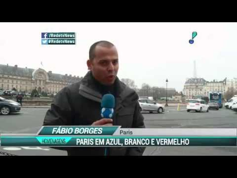 Paris faz homenagens às vitimas dos atentados