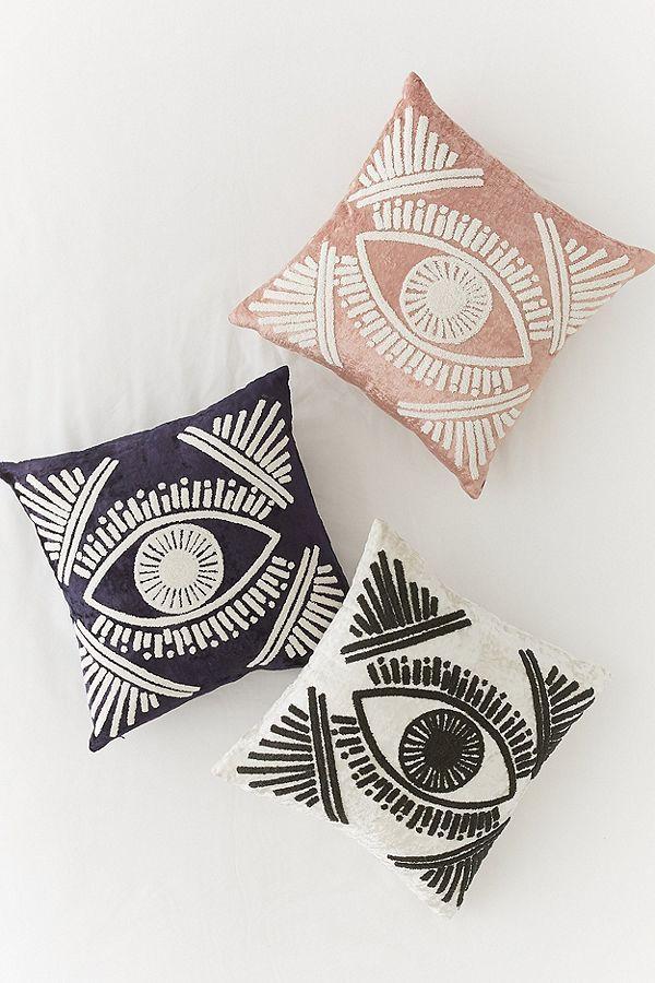 Magic Eye Velvet Throw Pillow | Boho pillows, Velvet pillows and ...