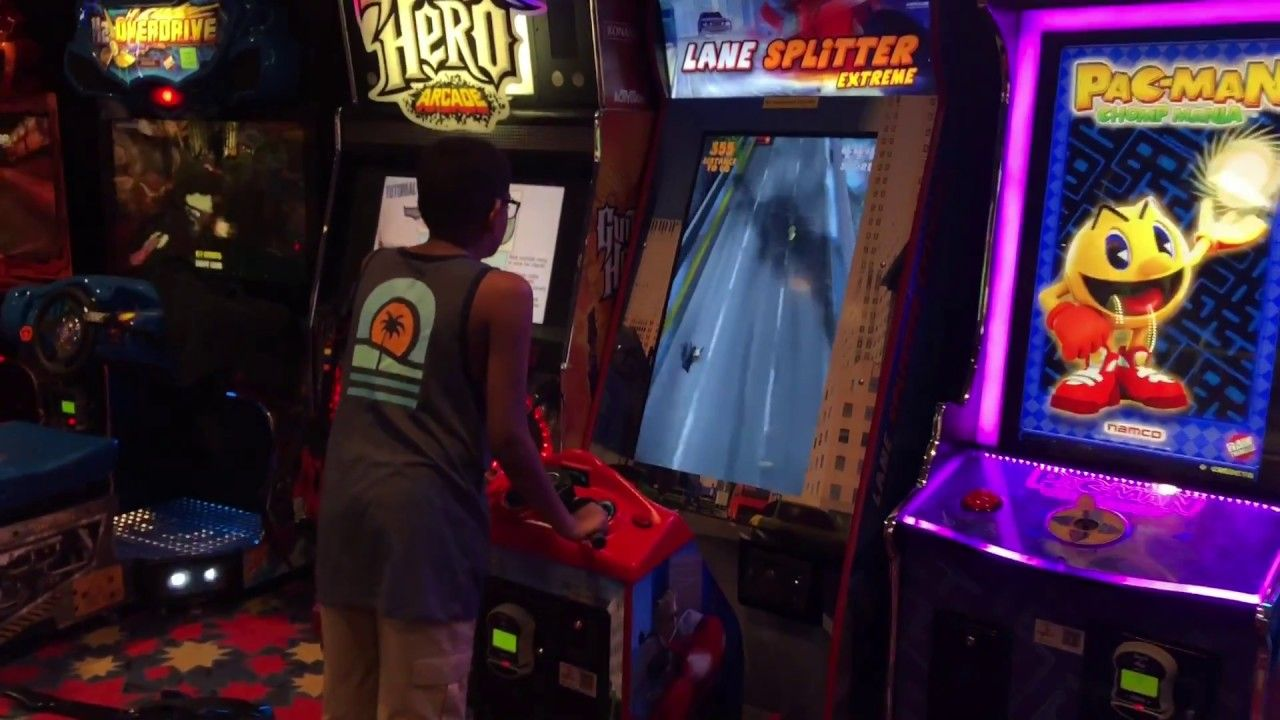 14+ Stand up arcade games edmonton info
