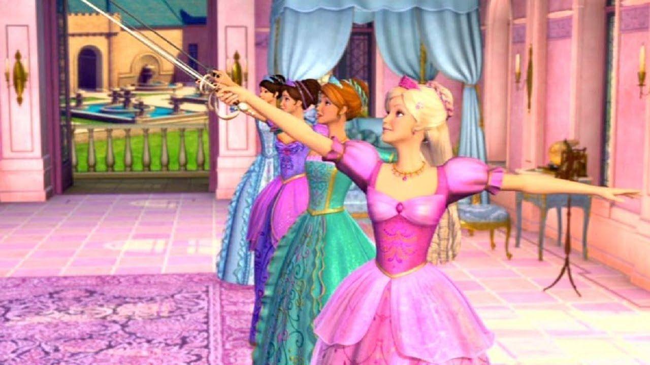 Barbie Y Las Tres Mosqueteras Pelicula Completa En Espanol Barbie Barbie Movies The Three Musketeers