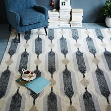 Patterened Floor Rugs and Geometric Shaped Rugs   west elm