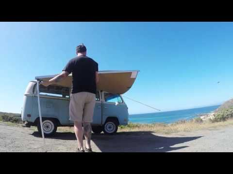 ARB Shade Awning: Installing an ARB Awning on a VW type 2 ...