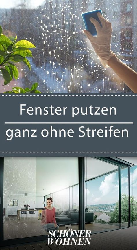 fenster putzen ganz ohne streifen kreativ pinterest fenster putzen fenster und haushalt. Black Bedroom Furniture Sets. Home Design Ideas