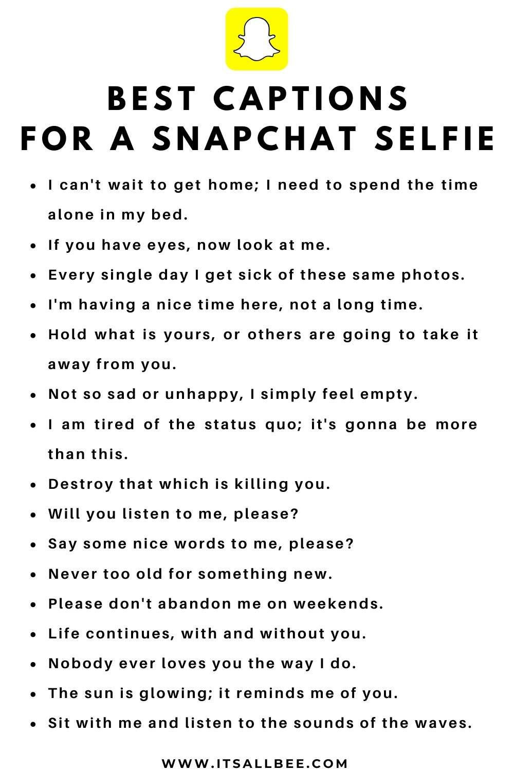 Cool Snapchat Quotes Captions Itsallbee Travel Blog In 2020 Snapchat Quotes Life Captions Quotes